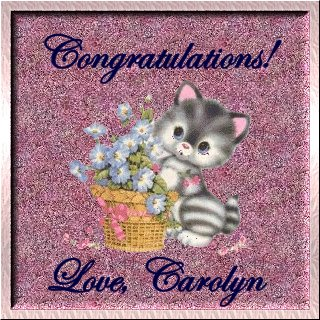 Visit Carolyn at ~Carolyn's Precious Memories~