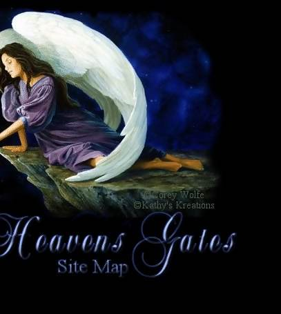 Heavens Gates Sitemap of pages